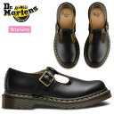 ドクターマーチン Dr.Martens ポリー Tバーシューズ[ブラック](14852001)POLLEY T-BAR SHOE レディース【靴】_1609ripe