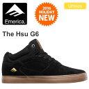 ・エメリカ EMERICA スー[ブラック/ガム]THE HSU G6 ユニセックス(男女兼用)【靴】_11612F(ripe)