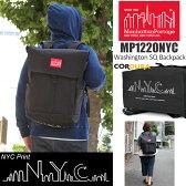 マンハッタンポーテージ Manhattan Portage NYCプリント ワシントンスクエアバックパック[ブラック/レッド](MP1220)NYC Print Washington SQ Backpack ユニセックス(男女兼用)【鞄】_11609F(ripe) [DEAL]