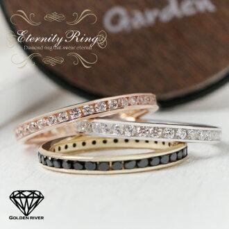 鑽石 FL 永恆環鐵路鉗鑽石戒指結婚戒指訂婚戒指 K18 K14