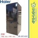 【中古】RK381▼ハイアール 冷蔵庫 138L 2011年 2ドア ブラック JR-NF140C