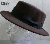 4654869 kb■a2w9 帽子 4colors カンカン帽 ハット フェルト ウールハット メンズ レディース ポリフェルト プチプラ トレンド 男女兼用 定番人気商品