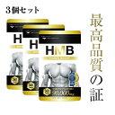 HMB サプリ 3個セット 国産 筋トレ 筋肉 プロテイン