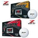日本正規品 2019 ダンロップ SRIXON スリクソン Z-STAR Z-STARXV ゴルフボール 1ダース(12個入り)Zスター
