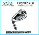 2012年モデル ダンロップ左 レフティー XXIO7(ゼクシオ セブン)アイアン単品 #4 #5、AW、SW ゼクシオMP700カーボンシャフト日本正規品