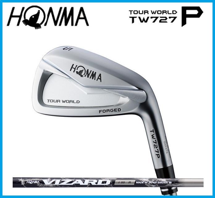 ホンマゴルフ HONMA TOUR WORLD ツアーワールド TW727P  アイアン単品(#3,#4,#11,SW) VIZARD I55 カーボンシャフト ☆NEW☆