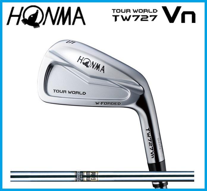 本間ゴルフ HONMA TOUR WORLD ホンマ ツアーワールド TW727Vn  アイアン6本セット(#5-10) Dynamic Gold スチールシャフト ☆NEW☆山口県