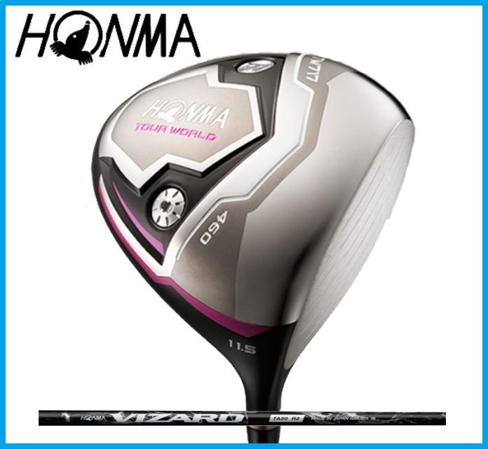 ホンマゴルフ HONMA レディース TOUR WORLD ツアーワールド TW717 460 レディース ドライバー VIZARD TA カーボンシャフト ☆NEW☆