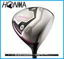 ホンマゴルフ HONMA レディース TOUR WORLD ツアーワールド TW717 460 レディース ドライバー VIZARD TA カーボンシャフト
