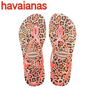 哈瓦那人字拖哈瓦那人字拖 Luna 動物動物 LUNA 婦女的拖鞋平唯一標準頂部和苗條出售 (購買分開,只要船)