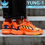 adidas YUNG〜1 アディダス ヤングワン メンズ スニーカー High Reso Orange ハイ レゾ オレンジ B37613 ads101