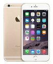 iPhone6 plus 64GB ゴールド ソフトバンク 白ロム 「メーカー交換品 新品同様未使用」