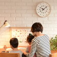 【ラッピング対応】 Lemnos(レムノス) ふんぷんくろっく /時計/壁掛け時計/インテリア/クロック/キッズ時計/リビング/子供部屋/知育/レムノス/こども/ 【あす楽対応】