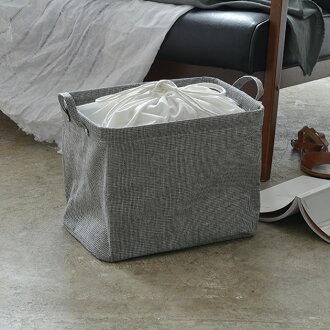 鶴鳴的 (海明) Pilier (樁) 條紋收納盒方形短 [袋包裝啟用] / 儲物盒 / 服飾 / pilier / 樁/廣場/洗衣 / 存儲 / 盒 / 小公牛 / 自然 / [sallbo]
