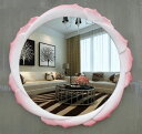 高級豪華鏡 アンティーク調 壁掛け鏡 壁掛け 壁掛けミラー ウォールミラー 67cm