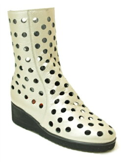 9000 POPOLARITA summer boots silver