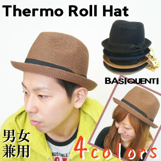 Rollup hat of a casual taste:-Thermo Roll Hat ( Thermo roll Hat ) [BASIQUENTI] men's and women's hats