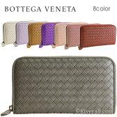 ボッテガヴェネタ 財布 BOTTEGA VENETA ラウンドファスナー長財布 イントレチャート レザー 114076v001n【送料無料】