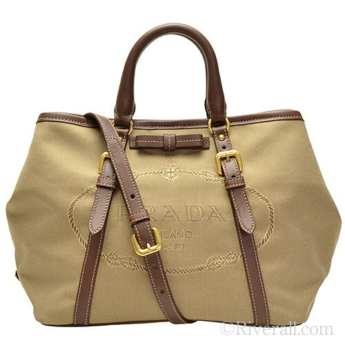 riverall | Rakuten Global Market: Prada Bags PRADA 2 way tote bag ...