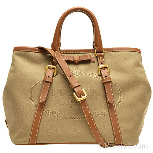 riverall | Rakuten Global Market: Prada Bags PRADA 2way tote bag ...