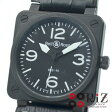 Bell&Ross Black/Whiteindex BR01-92-S アヴィエーション ミリタリー BR01-92-S【中古】
