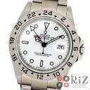 即日発送 ラッピング無料 ROLEX ロレックス 時計 エクスプローラー 16570 ホワイト ステンレス 自動巻き メンズウォッチ