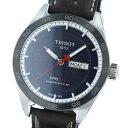 【中古】 TISSOT (ティソ) PRS516 Tスポーツ 時計 自動巻き/メンズ Navy T100.430.16.041.00 used:A