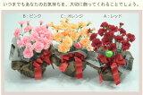 ■カーネーション鉢寄せ植え シルクフラワー【あす楽】【楽ギフ対応】5,000以上 造花で気持ちを永遠に!