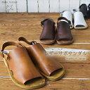 ショッピングサボ 送料無料 シェイク イン クローク レザー サボサンダル 日本製柔らかで履き心地抜群!本革 サンダルシロ クロ ブラウン キャメル レディース 靴 大きいサイズ M L shake in cloak カエルマーク made in japan