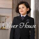 入学式 スーツ 男の子 ブラックフォーマル 5点セット OLIVER HOUSE オリバーハウス 1