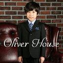 入学式 スーツ 男の子 ブラックフォーマル 5点セット 子供服 OLIVER HOUSE オリバーハウス 110cm・120cm・130cm フォーマル ピアノ...