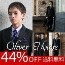 卒業式 スーツ 男の子 ブラックフォーマル 5点セット OLIVER HOUSE オリバーハウ
