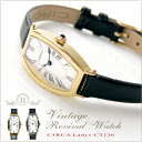 CIRCA レディース腕時計〈 サーカ CT126TG CT126TS 〉腕時計 レディース 革ベルト かわいい 時計 アンティーク ビンテージ ゴールド 入社祝い 入学祝い 卒業祝い 誕生日 プレゼント ギフト 人気 おすすめ 上品 華奢 【送料無料】