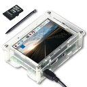 UCTRONICS 3.5インチ TFT LCDタッチスクリーン(ペン SDカード&ケース付き ラズベリーパイ用)