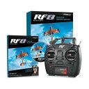 Realflight 8 フライトシミュレータ Interlink-Xモード2トランスミッタ付