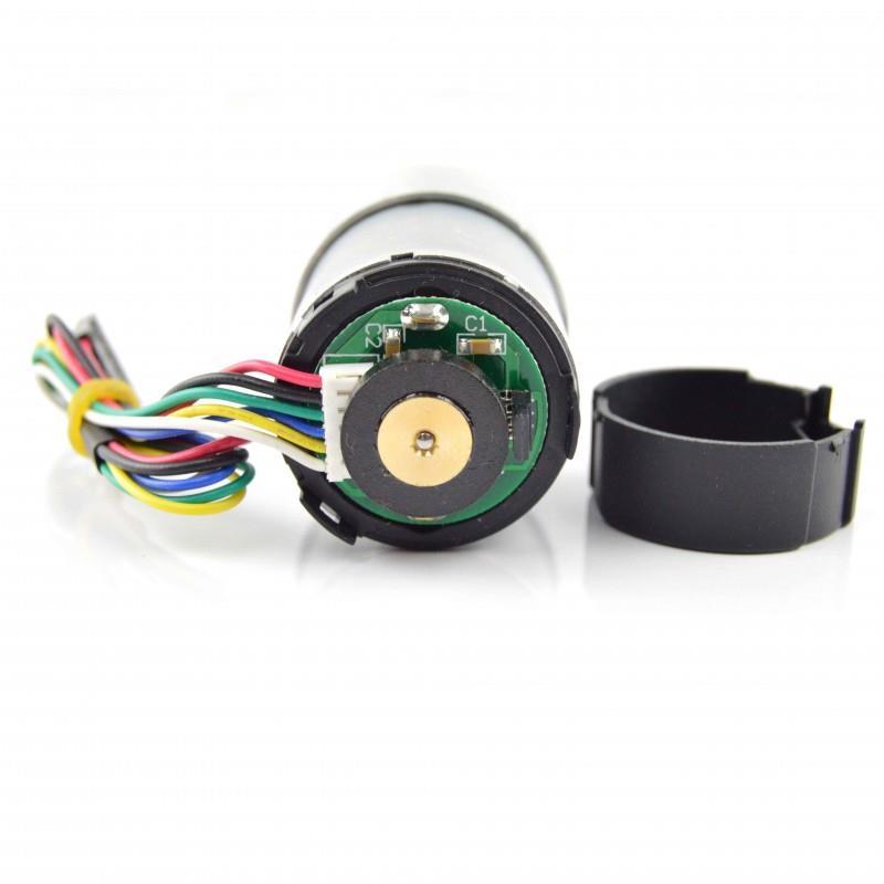 Pololu 12V、100:1 ギヤモーター 64 CPR エンコーダー付き