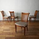 IZ41837O★4脚セット 定価84万円 DrexelHeritage ダイニングチェア Francesca マホガニー ドレクセル サイドチェア フランチェスカ 椅子