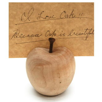 ■ Inc.(La Luz la Luce) ■ ring card holder L Maple (display gadgets, gadgets Cafe, and wooden picture frames)-+ natural-