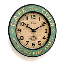 Cafe Tours clock (BT-84) (wall hangings clock, wall clock cafe miscellaneous goods antique miscellaneous goods) [marathon201305_interior]