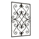  square (BE-03) (iron, wall decoration, display miscellaneous goods, cafe miscellaneous goods wall hangings)+ antique  marathon201305_interior 