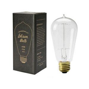 Edison Bulb エジソンバルブ Signature(L) E26 60W(アンティーク 照明 裸電球 レトロ カフェ 間接照明 インテリア照明 エジソンランプ)