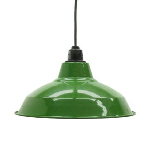 Retro enamel lamp 12-inch green (LED enamel enamel enamel porcelain enamel ceiling lighting Cafe Nordic sealing ceiling light interior lighting living dining Cafe lighting )