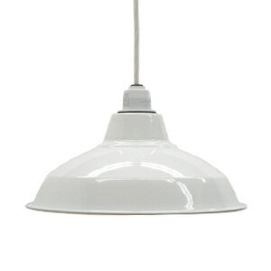 Retro enamel lamp 12-inch white (enamel, enamel, and better lighting would, enameled and lighting, ceiling lighting, Cafe and Nordic and sealing ceiling light interior lighting, living dining Cafe )