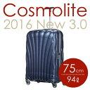 サムソナイト コスモライト3.0 スピナー 75cm ミッドナイトブルー Samsonite Cosmolite 3.0 Spinner V22-31-304 ...