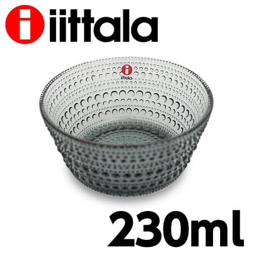 iittala イッタラ Kastehelmi カステヘルミ ボウル 230ml グレー お皿 皿