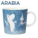 Arabia アラビア ムーミン マグ 淡雪 ライトスノーフォール Light Snowfall 300ml マ