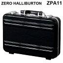 ゼロハリバートン ZERO HALLIBURTON クラシック ポリカーボネート アタッシュケース フレームタイプ スモール ブラック B4対応 80634 Z..