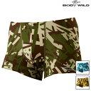 BODY WILD (ボディワイルド) - BWY912A メンズ AIRZ ボクサーパンツ (前とじ)