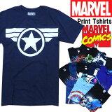 Marvel TEE 半袖 Tシャツ プリントT メンズ マーベル コミックス MARVEL COMICS スパイダーマン アベンジャーズ ハルク キャプテン・アメリカ X-MEN ソー