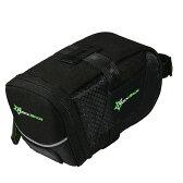 【ただいま送料無料!!】ROCKBROS(ロックブロ)マウンテンバイク サドルバッグ ナイロン防水 シートポストバッグ リアバッグブラック【後払い対応】シート バッグ